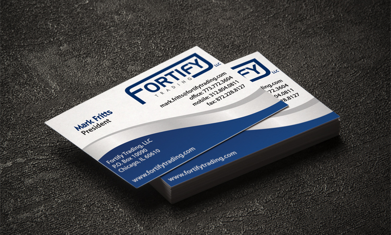 Fortify Trading Business Card
