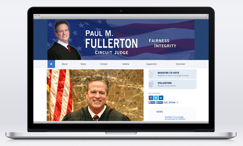 Judge Paul Fullerton Website